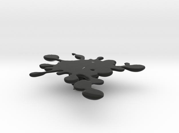 The evil mud penholder 3d printed