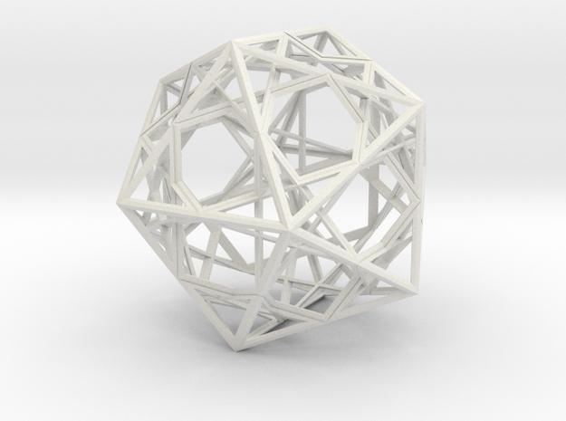 STAR-2 ( improved ) in White Natural Versatile Plastic