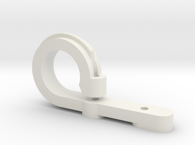 JHD-tail_servo_mount.stl in White Natural Versatile Plastic