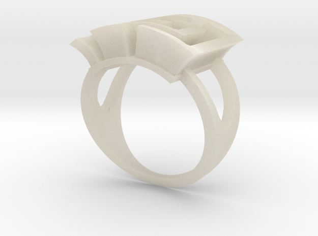 AMazeRing (size 13) 3d printed