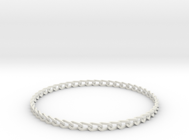 Bracelet Stainless in White Natural Versatile Plastic