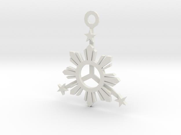 Sun_Star_Final_003_loop.dae in White Natural Versatile Plastic