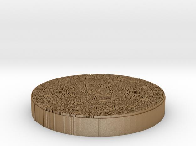 Mayan Pendent 3d printed