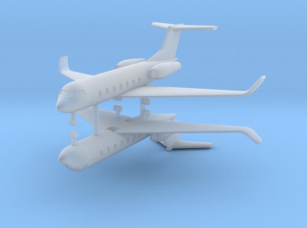 1/700 Gulfstream G550 (x2) in Smooth Fine Detail Plastic