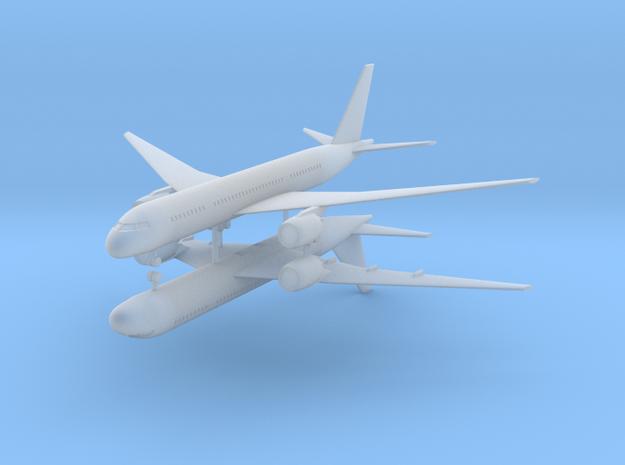 1/700 Boeing 787-800 Dreamliner (x2)  in Smooth Fine Detail Plastic