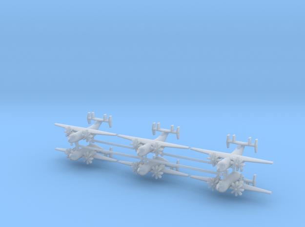 1/700 C-2A(R) Greyhound (x6) in Smooth Fine Detail Plastic