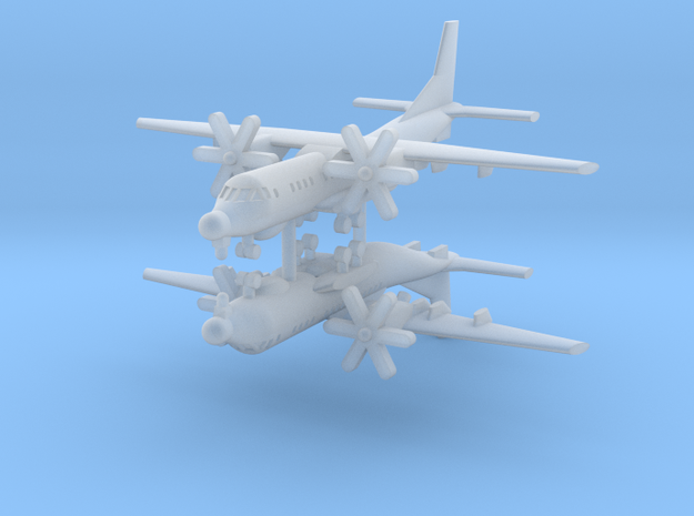 1/700 C-295MPS (x2) in Smooth Fine Detail Plastic