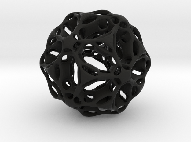 Double Folded Icosahedron 3d printed