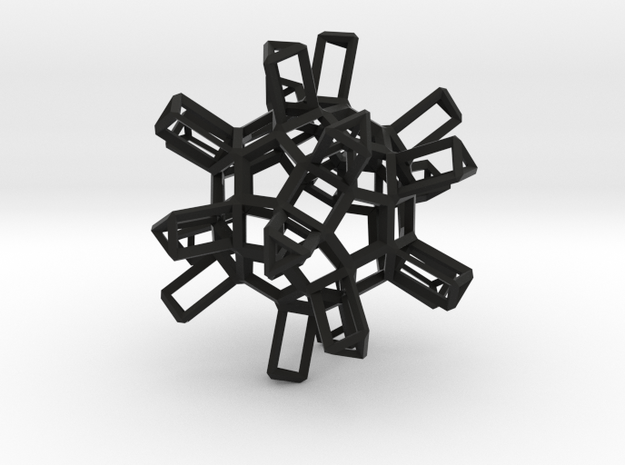 Dodecahedron TopMod 3d printed