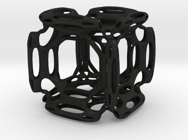 Cube With Holes 3d printed