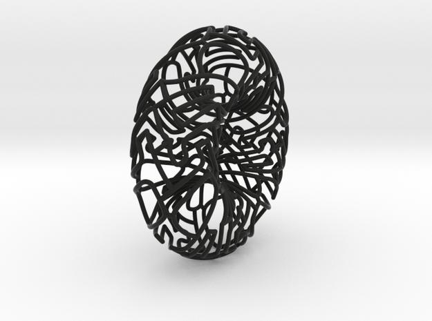 Torus Autologlyph 3d printed
