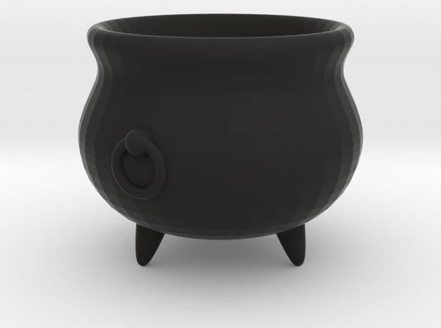 Large Cauldron, 28mm scale 3d printed