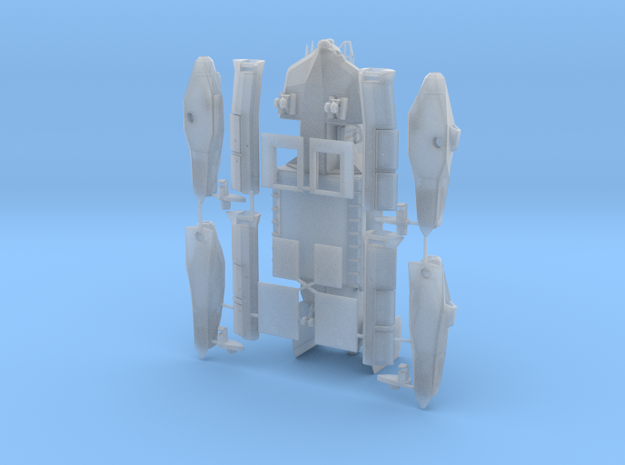 dropship concept in Smooth Fine Detail Plastic