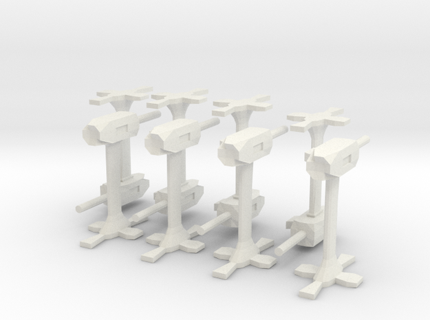 Base defence guns 3d printed