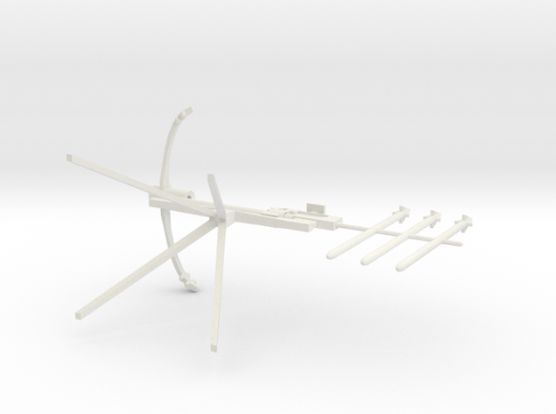 Crossbow resized in White Natural Versatile Plastic