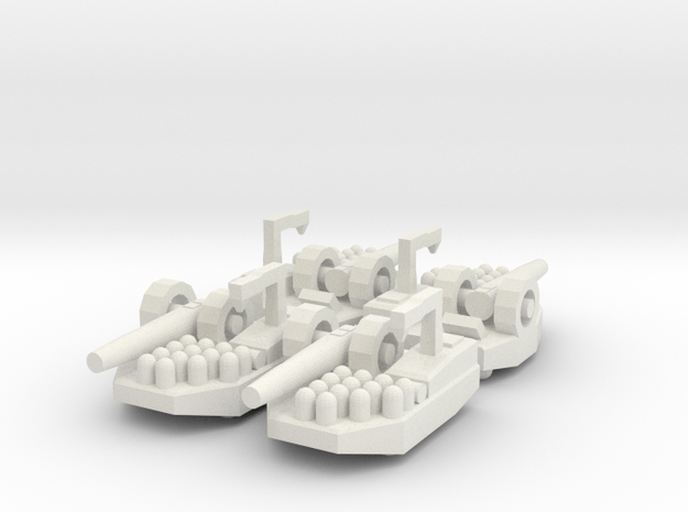 1 Artillery x4 in White Strong & Flexible