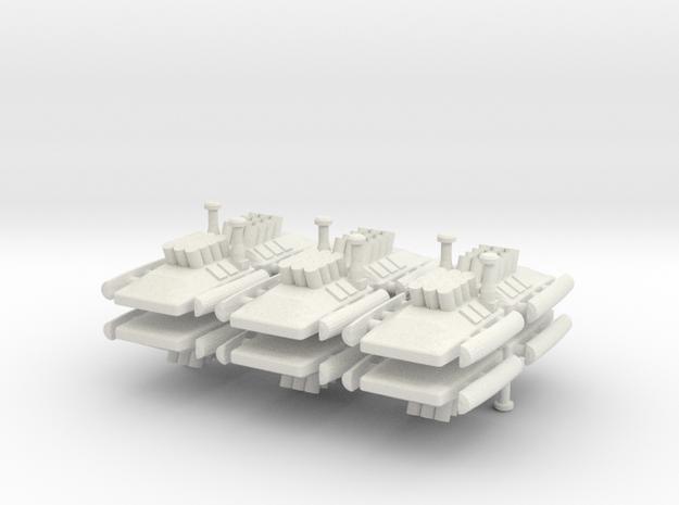 2 Artillery x12  in White Strong & Flexible