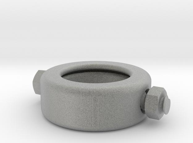 Frankenstein Ring in Metallic Plastic