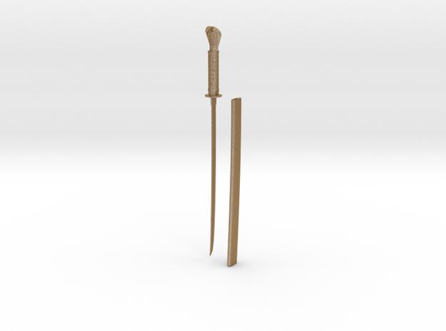 Snake Long Sword 3d printed