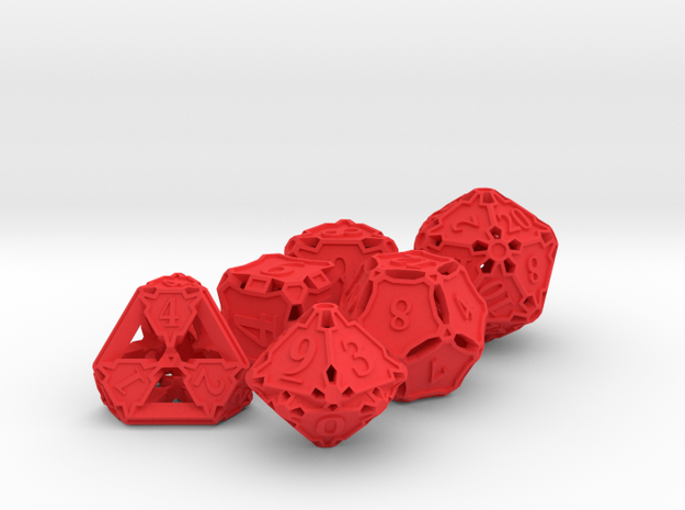 Dice Set 3d printed