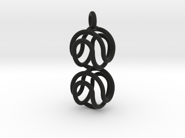 Marble Pendant v2 3d printed