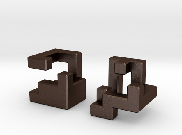 Insinuate puzzle 3d printed