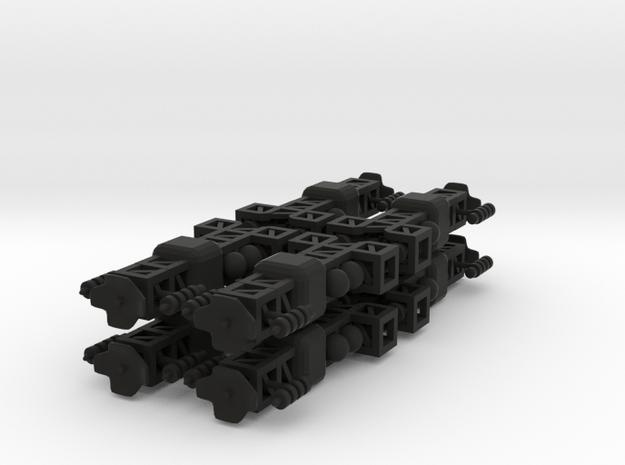 8 Small Spaceship x8 3d printed