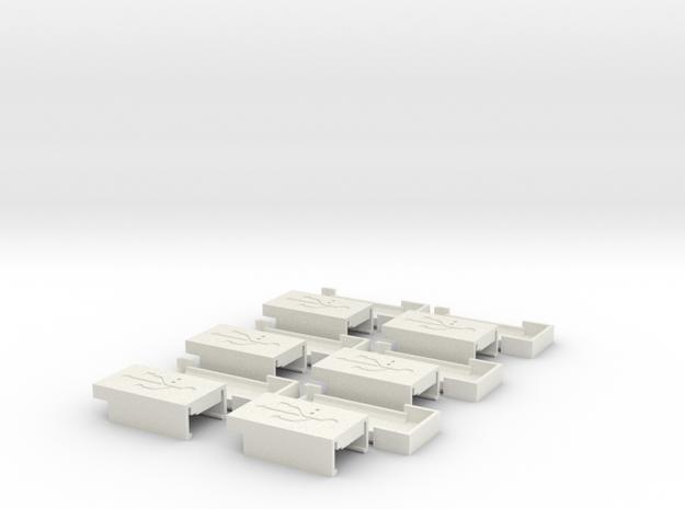 USBH-3.6 in White Natural Versatile Plastic