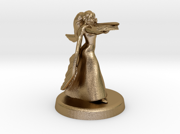 Bethrynna (Eladrin wizardess) 3d printed