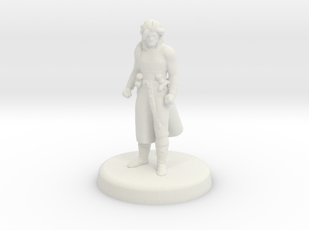 Crumpleface Jack (Human Rogue) in White Natural Versatile Plastic