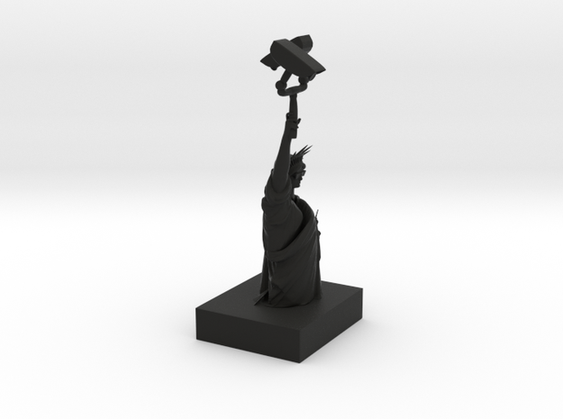 Liberty bust 3d printed