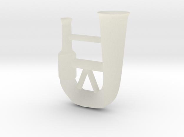 Horn 3d printed