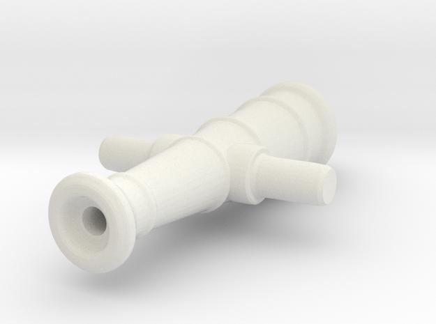 Swivel gun in White Natural Versatile Plastic