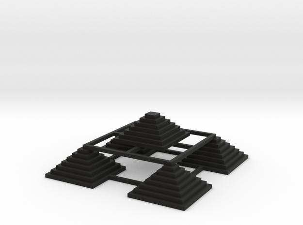 Pyramid 5 3d printed