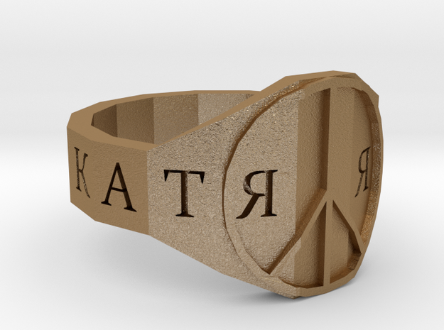 Ring_Peace 3d printed