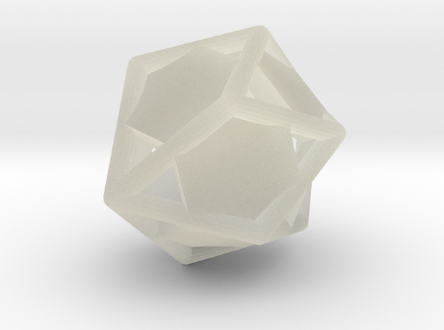 d10 gyro blank in Transparent Acrylic