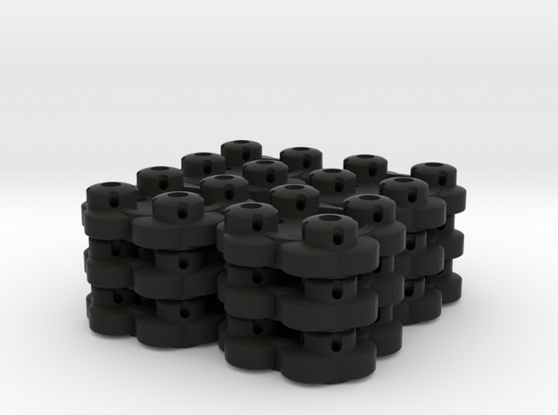 Clover Connector (12-Pack) 3d printed