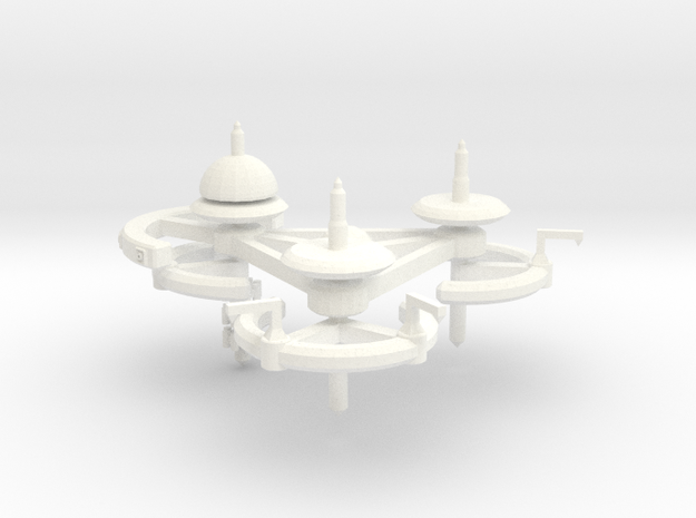5 Repair and Resupply Space Station 3d printed