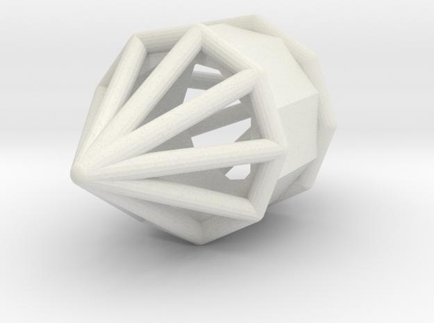 d9 barrel blank in White Natural Versatile Plastic