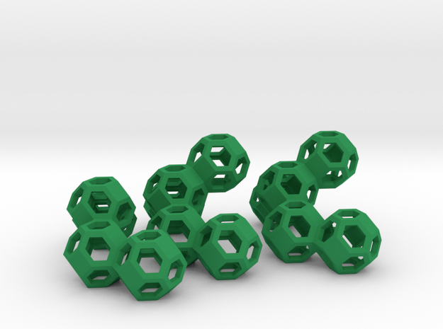Nuclear Fusion Puzzle 3d printed