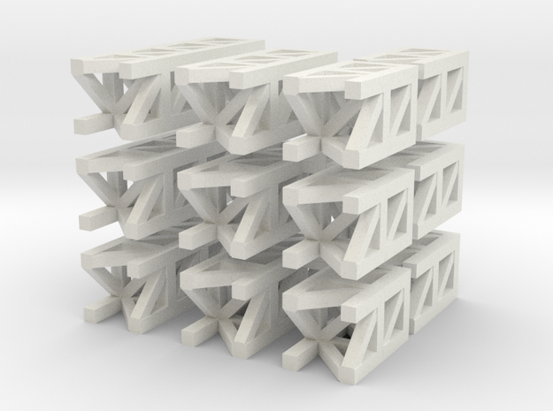 Long Modular Structures 3d printed