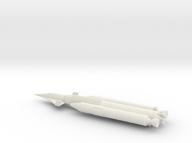 NASC Dynasoar Booster in White Natural Versatile Plastic