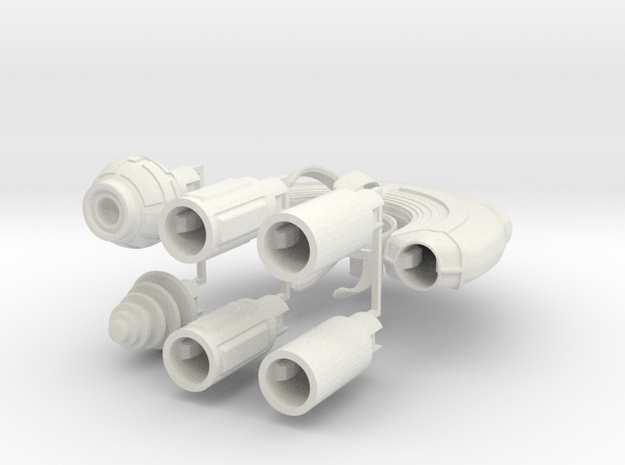 M-Ships Faction 4 Frigate 3d printed