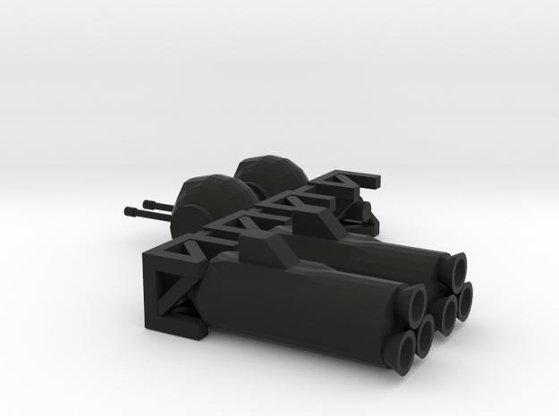 Tube Ship Modules 3d printed