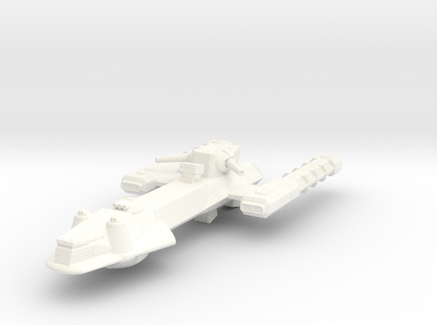 Battle Frontiers Frigate 3d printed