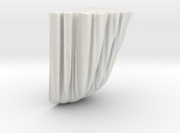 palisade 1 in White Natural Versatile Plastic