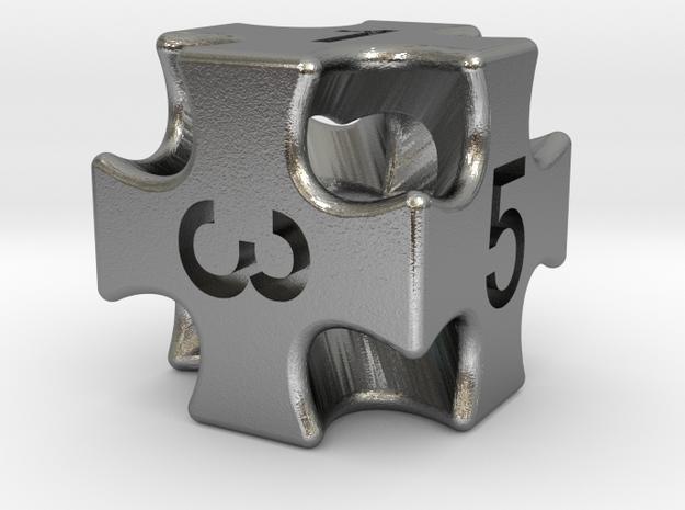 Numbered Precious Cross 3d printed