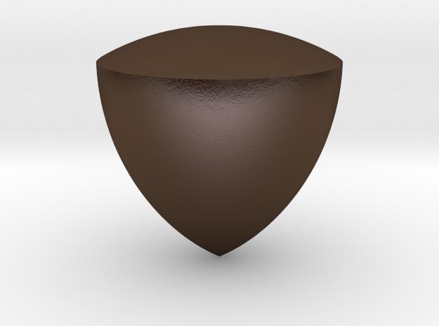 Reuleaux Triangle Spheroform 3d printed