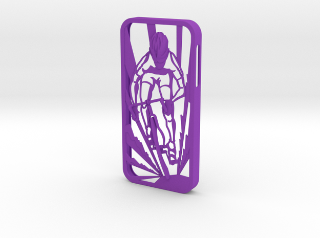Muscular Cyclist iPhone 5/5s Case 3d printed