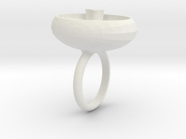 saskia ring wit 3d printed